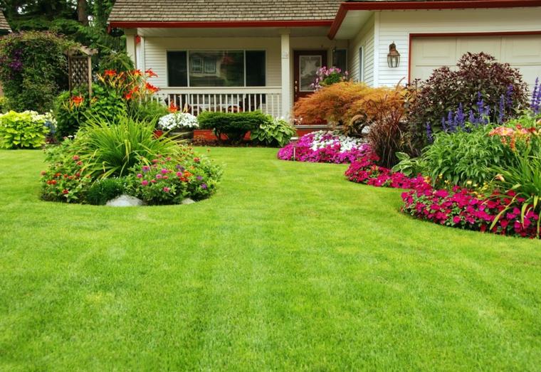 Ανοιξιάτικη ανακαίνιση κήπου ιδέες (13)
