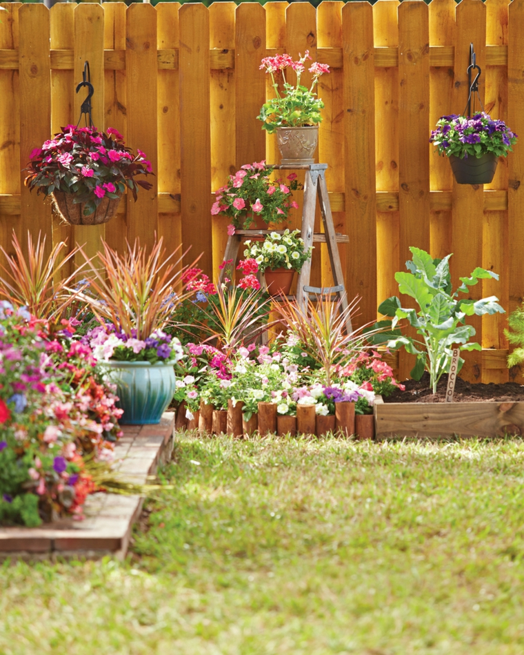 Ανοιξιάτικη ανακαίνιση κήπου ιδέες (14)