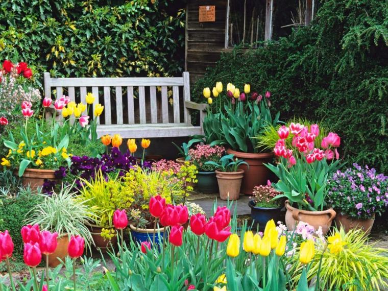 Ανοιξιάτικη ανακαίνιση κήπου ιδέες (2)