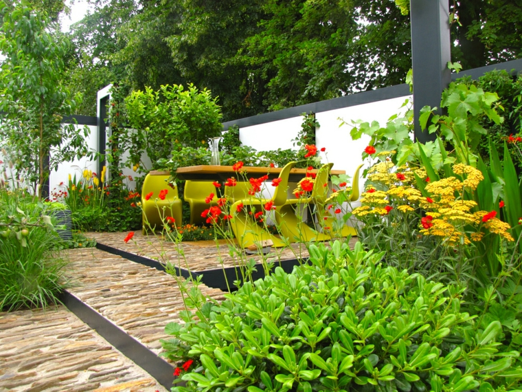Ανοιξιάτικη ανακαίνιση κήπου ιδέες (3)