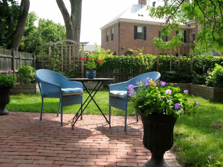 Ανοιξιάτικη ανακαίνιση κήπου ιδέες (34)