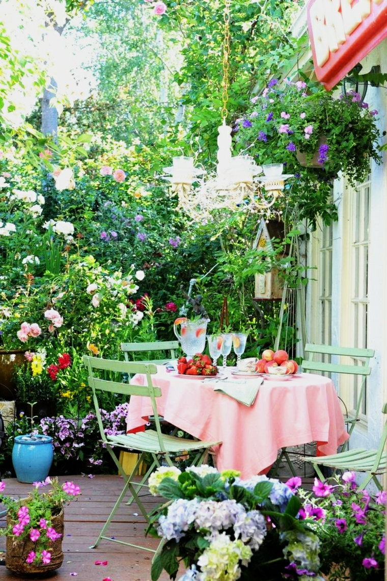 Ανοιξιάτικη ανακαίνιση κήπου ιδέες (37)