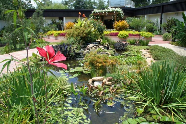 Ανοιξιάτικη ανακαίνιση κήπου ιδέες (39)