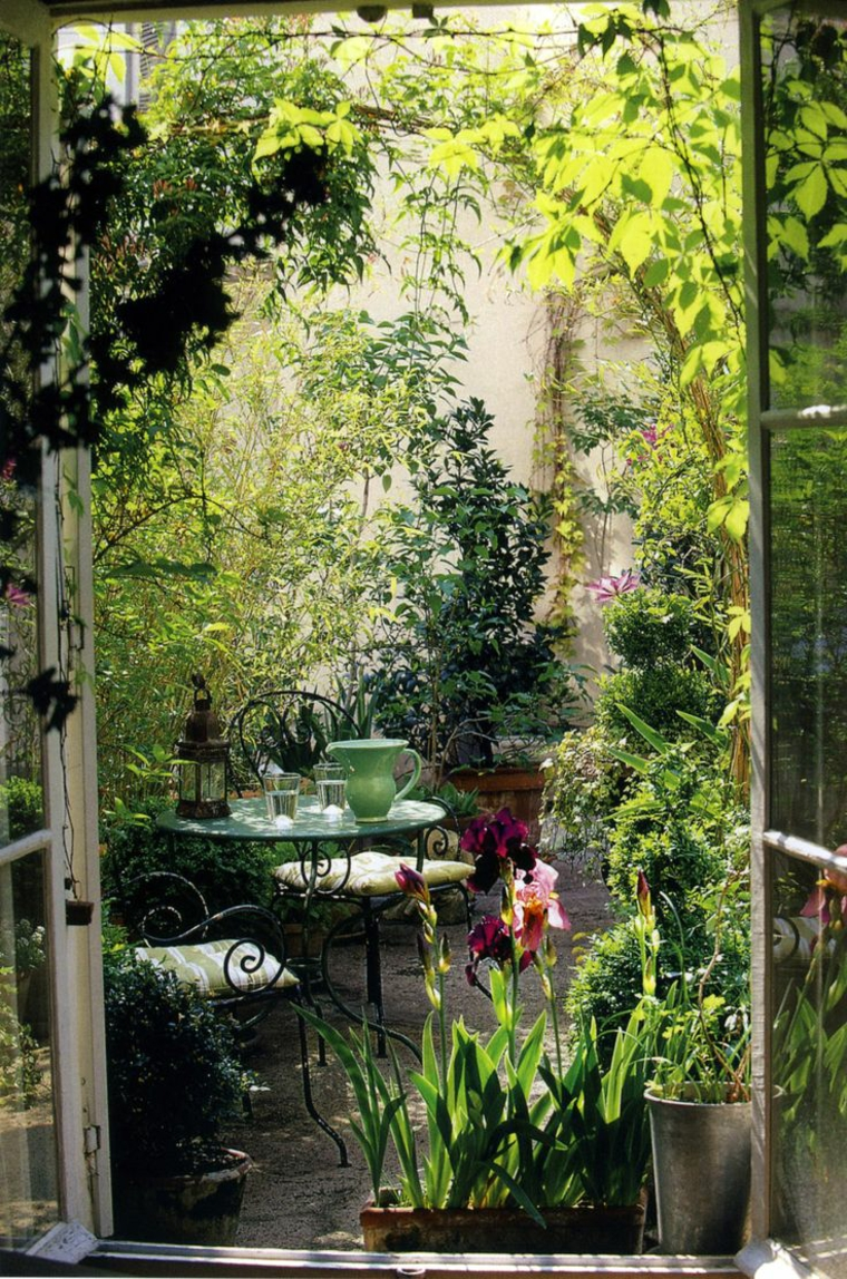 Ανοιξιάτικη ανακαίνιση κήπου ιδέες (41)