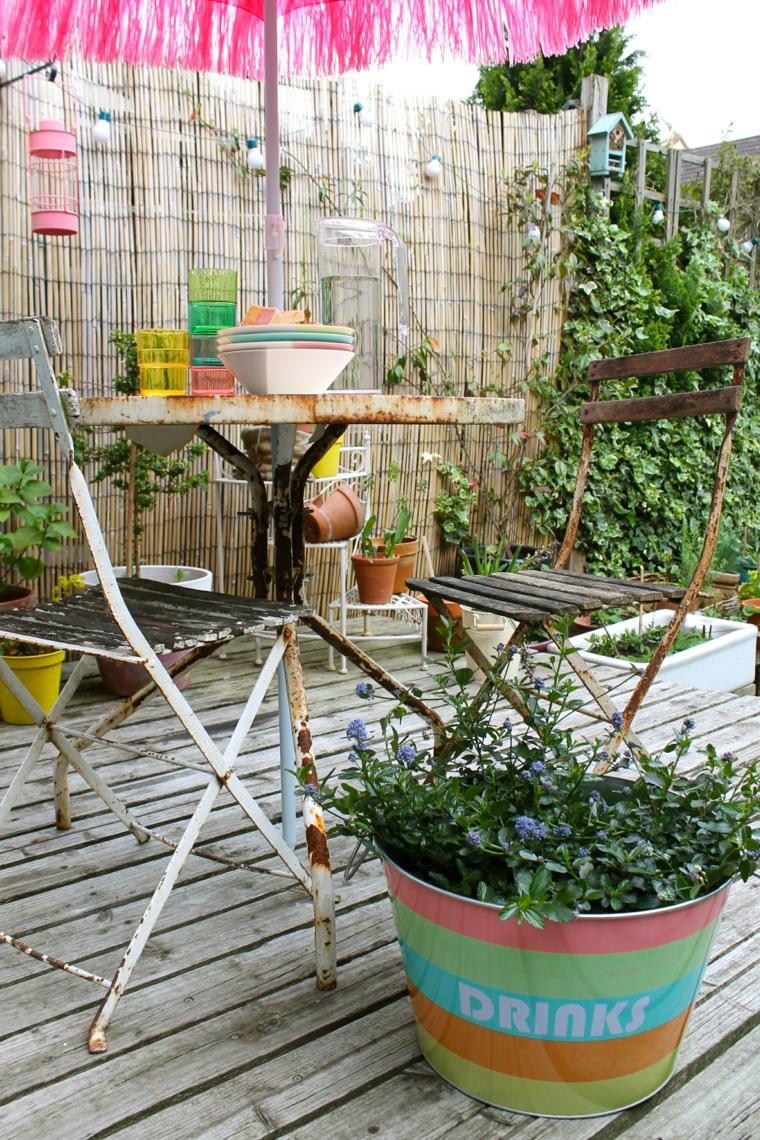 Ανοιξιάτικη ανακαίνιση κήπου ιδέες (46)