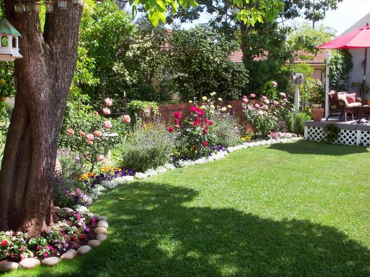 Ανοιξιάτικη ανακαίνιση κήπου ιδέες50