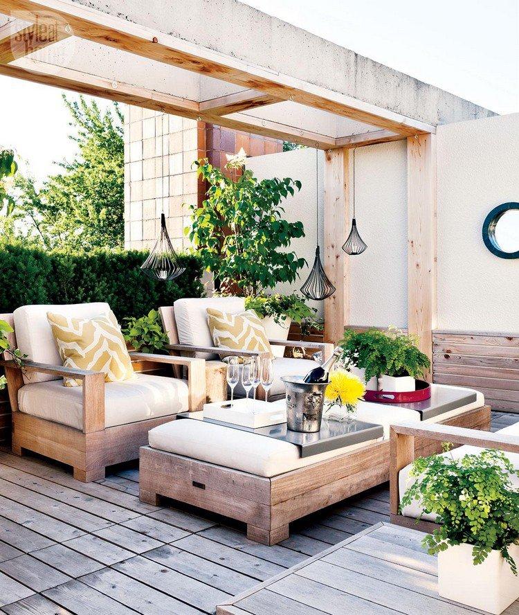 Κήπος στην ταράτσα ιδέες11