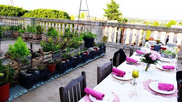 Κήπος στην ταράτσα ιδέες14
