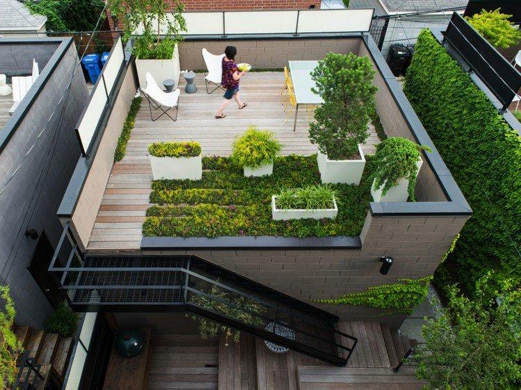 Κήπος στην ταράτσα ιδέες15