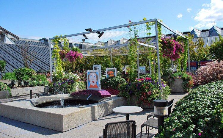 Κήπος στην ταράτσα ιδέες19