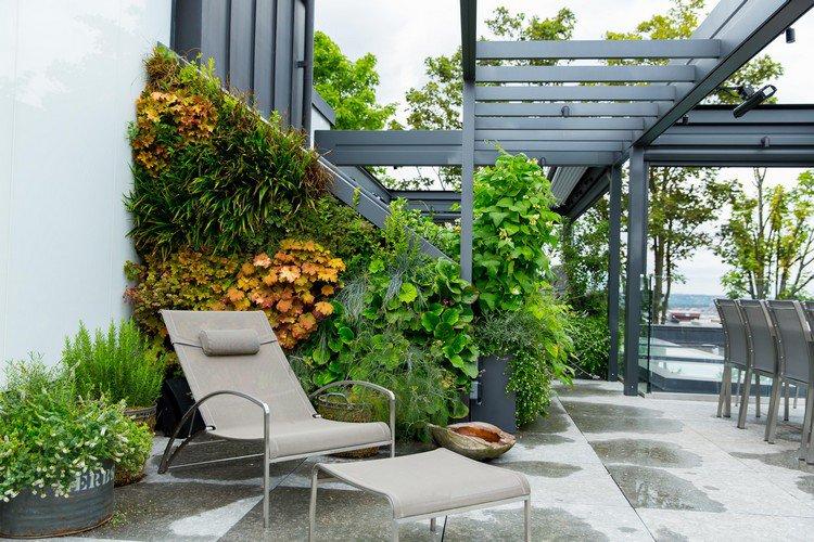 Κήπος στην ταράτσα ιδέες20