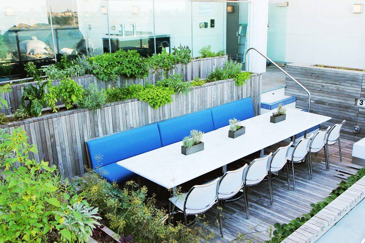Κήπος στην ταράτσα ιδέες22