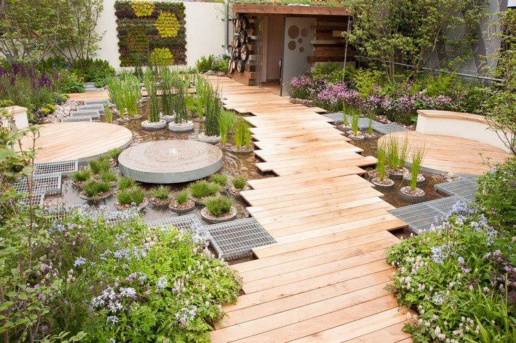 Κήπος στην ταράτσα ιδέες27