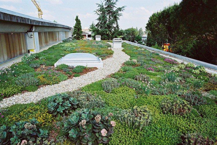 Κήπος στην ταράτσα ιδέες32