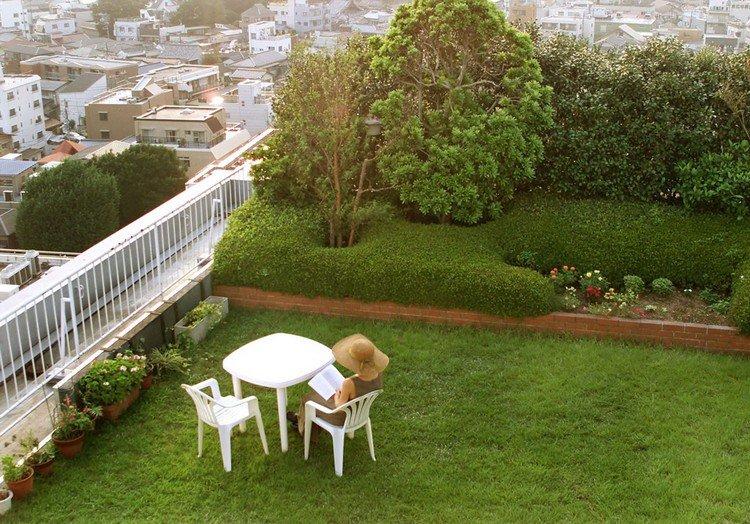 Κήπος στην ταράτσα ιδέες33