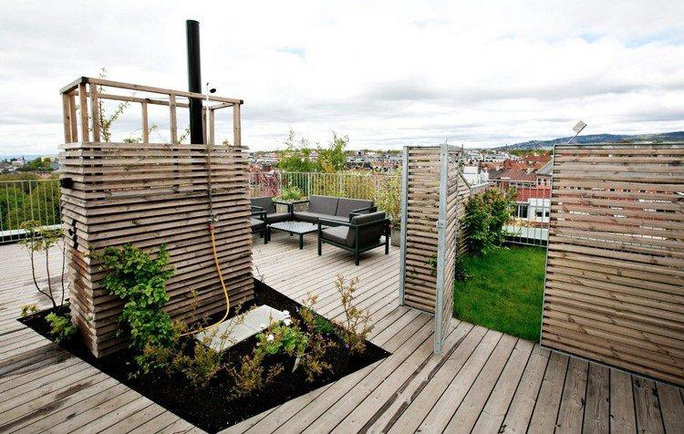 Κήπος στην ταράτσα ιδέες34