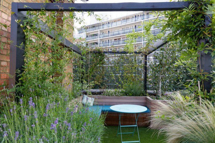 Κήπος στην ταράτσα ιδέες45