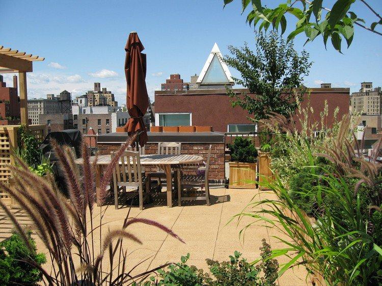 Κήπος στην ταράτσα ιδέες46
