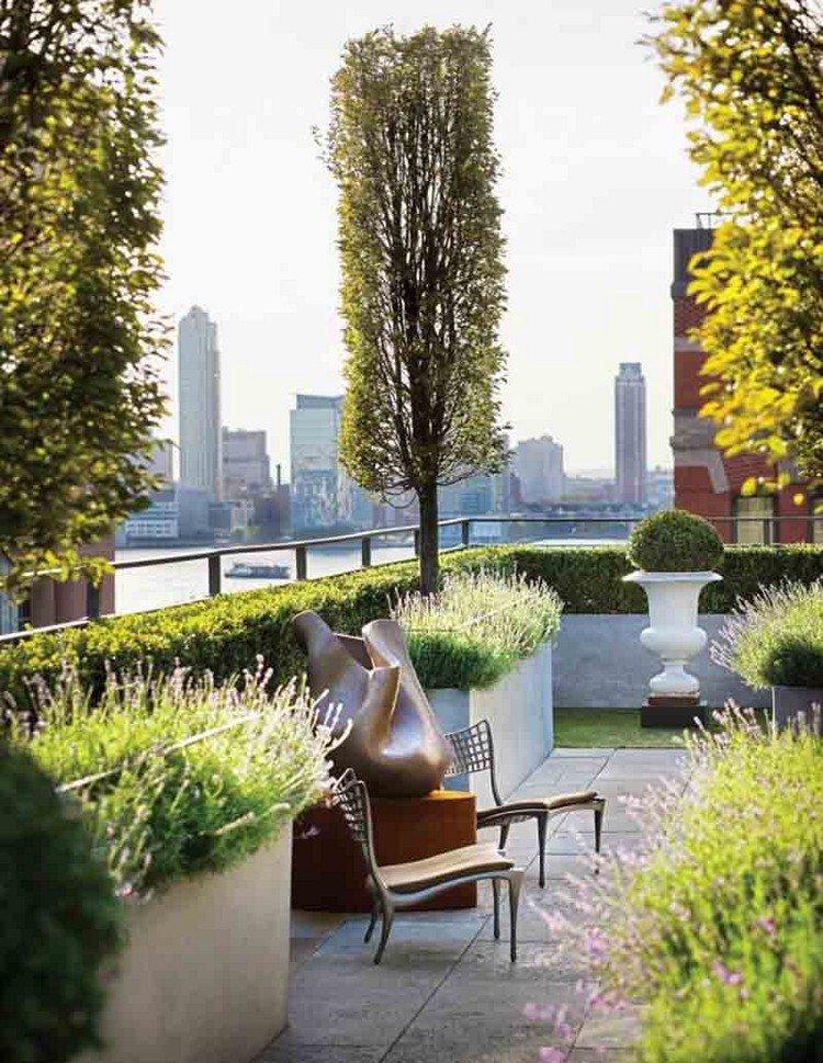 Κήπος στην ταράτσα ιδέες49