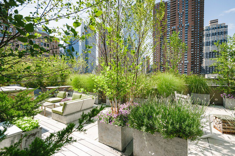 Κήπος στην ταράτσα ιδέες5