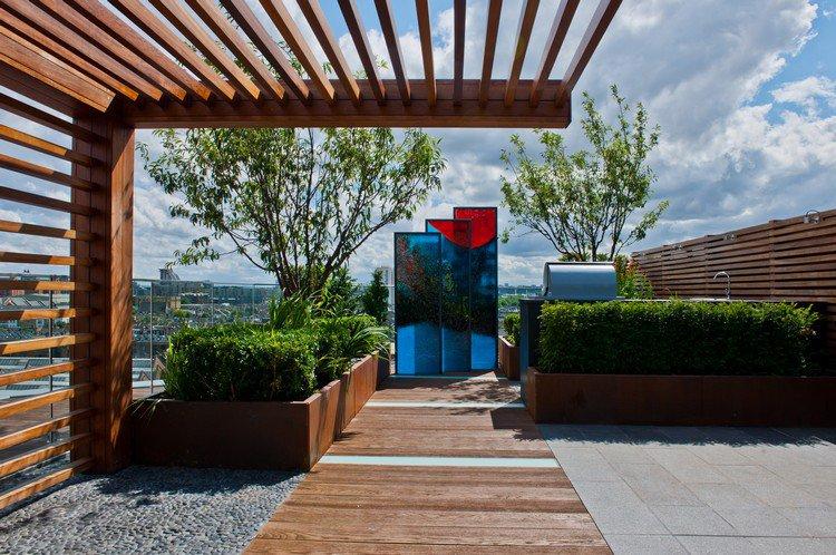 Κήπος στην ταράτσα ιδέες55