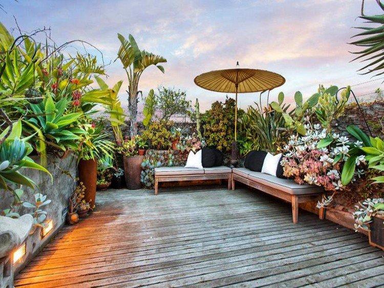 Κήπος στην ταράτσα ιδέες6