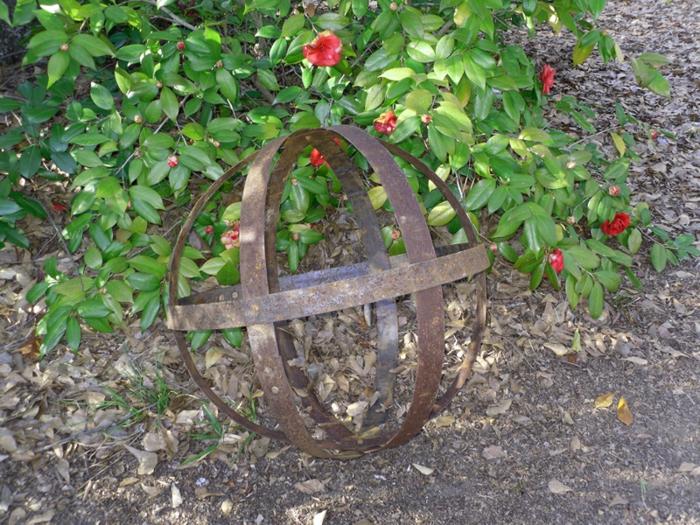 Ρουστίκ διακόσμηση κήπου11