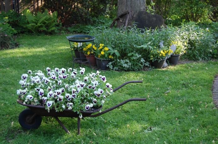 Ρουστίκ διακόσμηση κήπου16