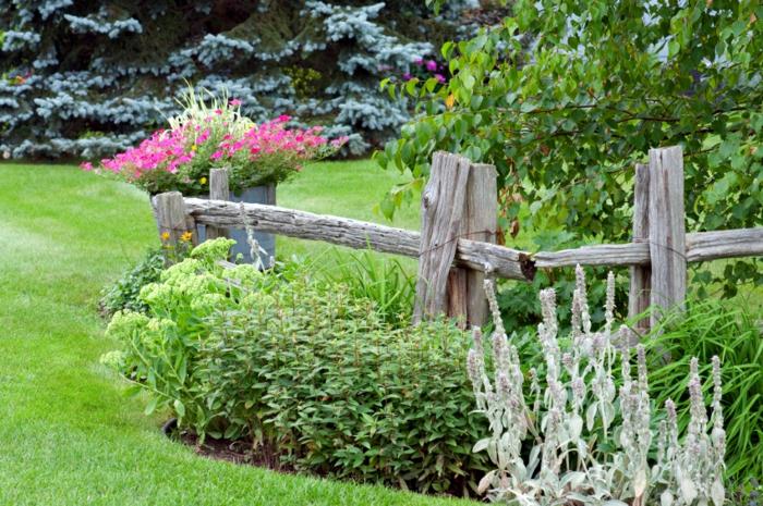 Ρουστίκ διακόσμηση κήπου19