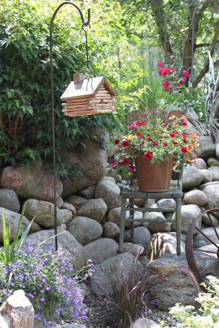 Ρουστίκ διακόσμηση κήπου2