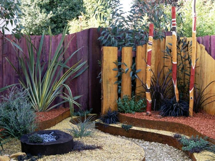 Ρουστίκ διακόσμηση κήπου29