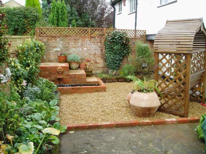 Ρουστίκ διακόσμηση κήπου30