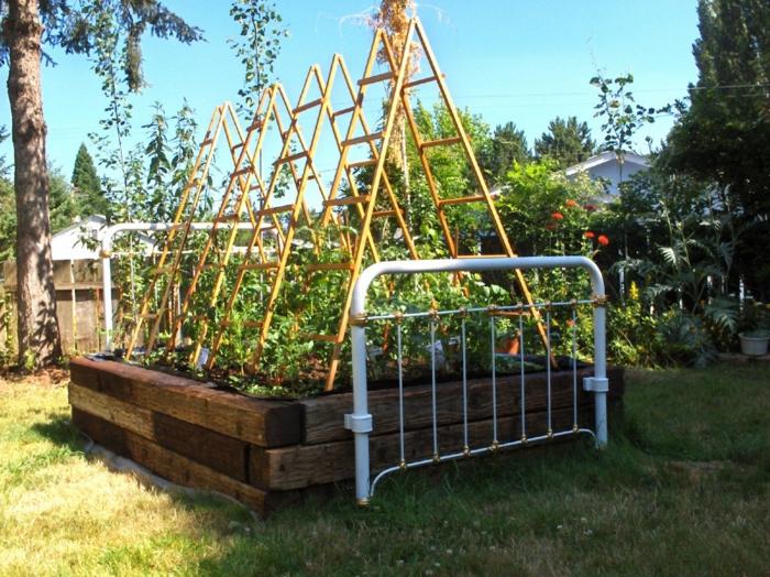 Ρουστίκ διακόσμηση κήπου32