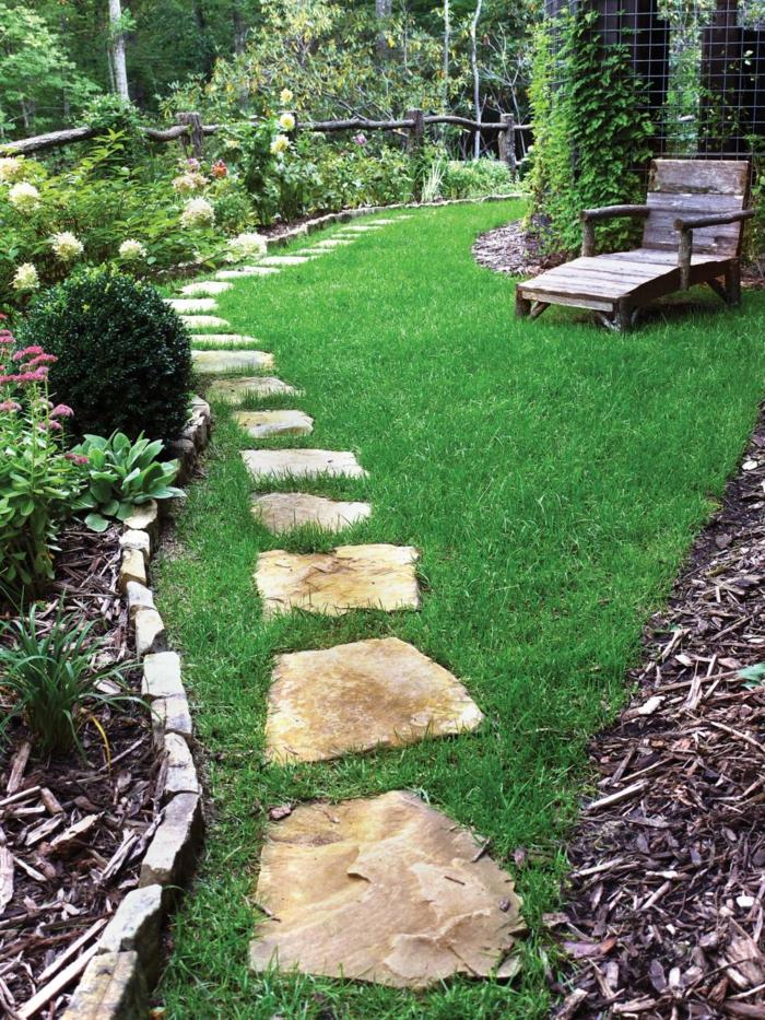 Ρουστίκ διακόσμηση κήπου36