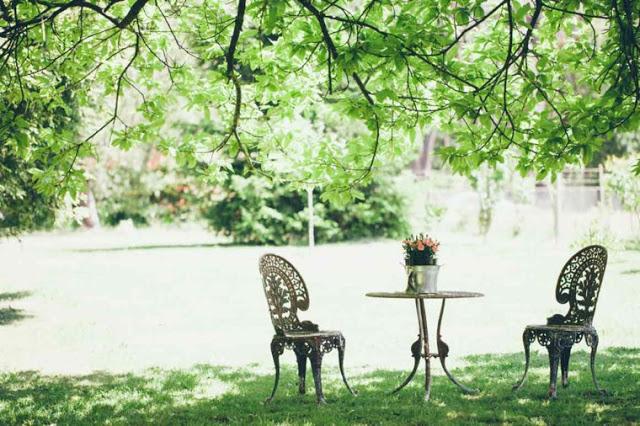 Ρουστίκ διακόσμηση κήπου43
