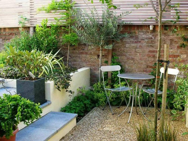 Ρουστίκ διακόσμηση κήπου52
