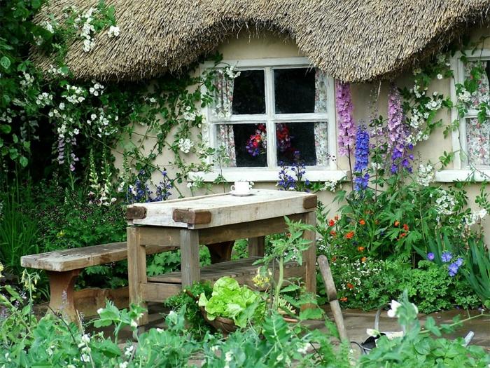 Ρουστίκ διακόσμηση κήπου9
