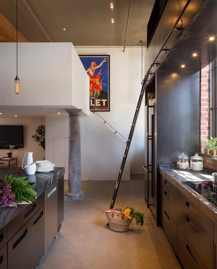 βιομηχανική κουζίνα ιδέες12