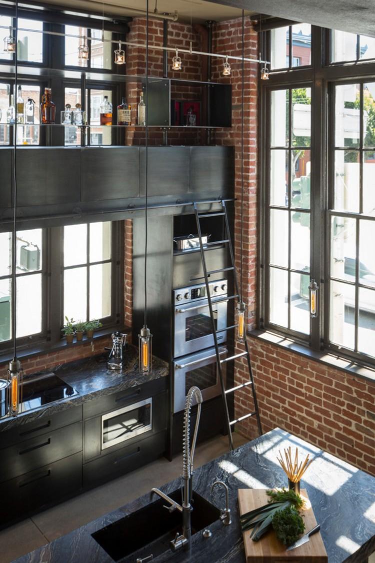 βιομηχανική κουζίνα ιδέες13