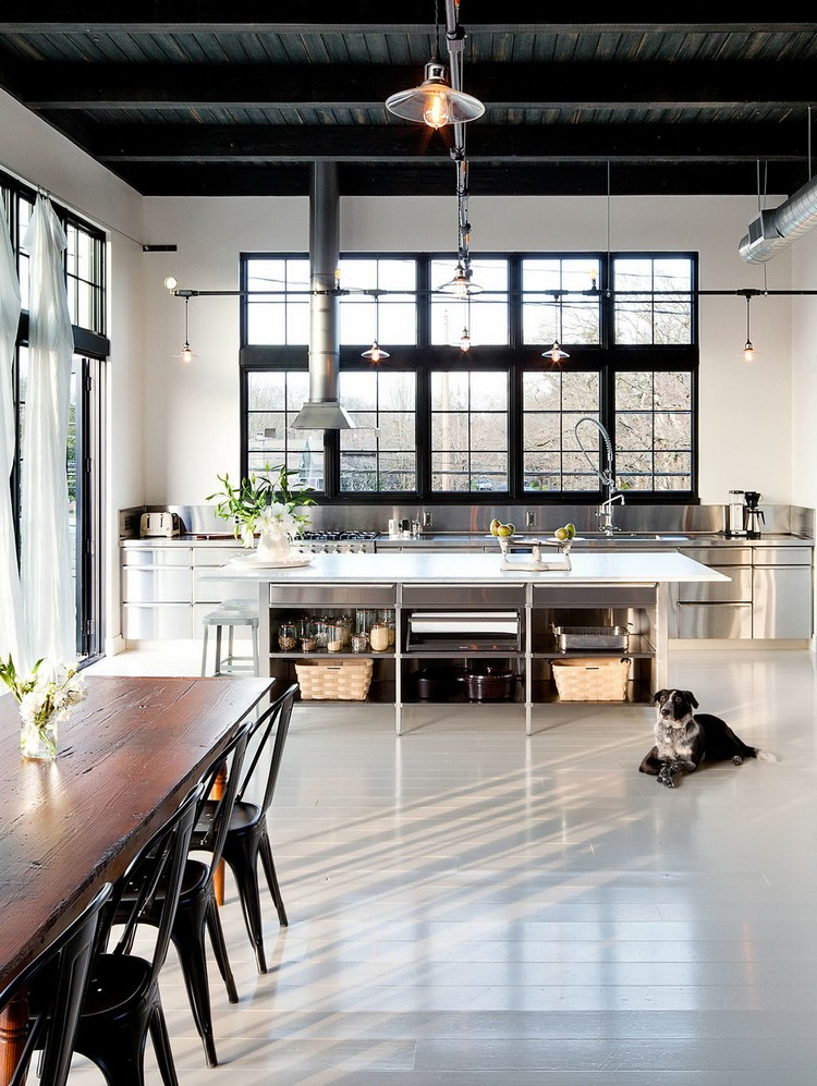 βιομηχανική κουζίνα ιδέες15
