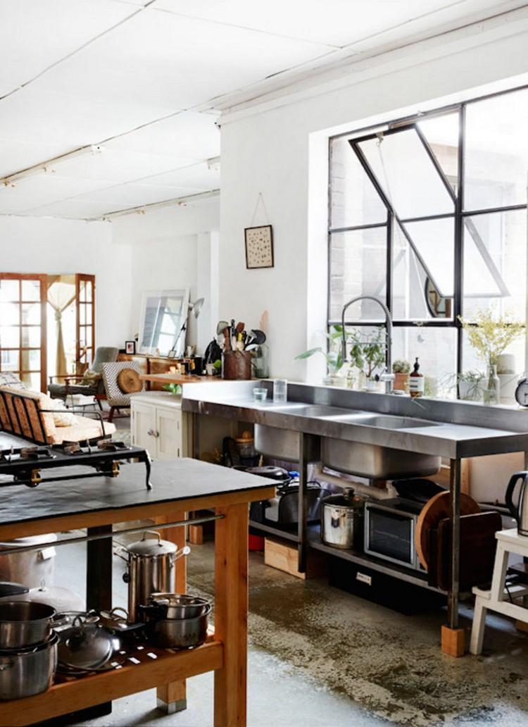 βιομηχανική κουζίνα ιδέες19