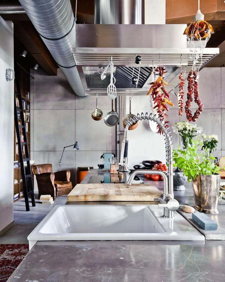 βιομηχανική κουζίνα ιδέες23