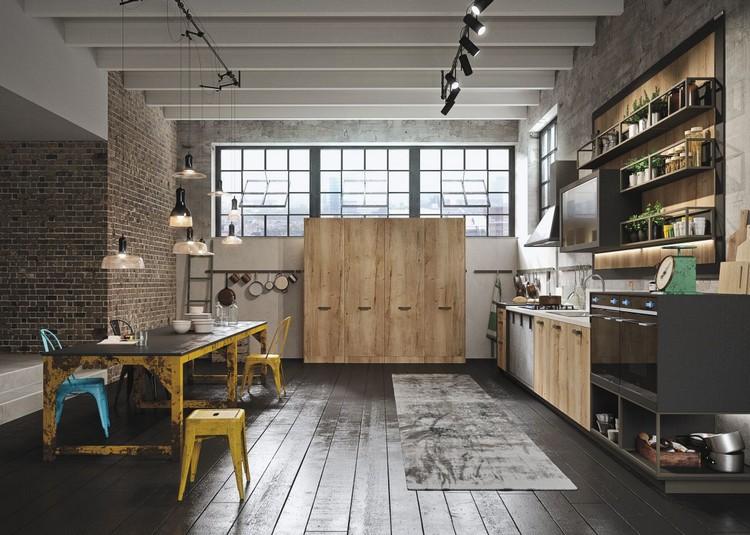 βιομηχανική κουζίνα ιδέες3