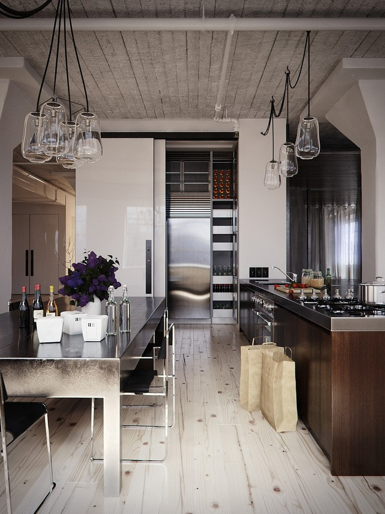 βιομηχανική κουζίνα ιδέες39