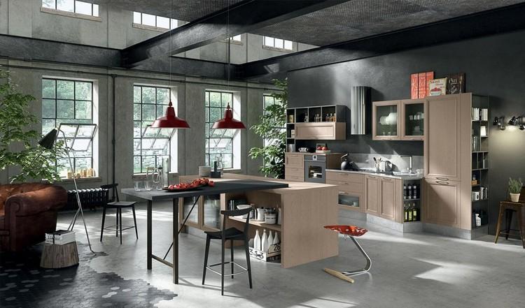βιομηχανική κουζίνα ιδέες40