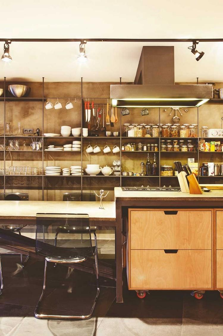 βιομηχανική κουζίνα ιδέες5