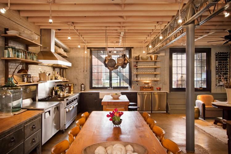 βιομηχανική κουζίνα ιδέες8