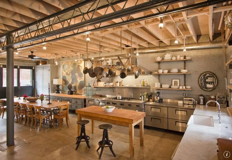 βιομηχανική κουζίνα ιδέες9