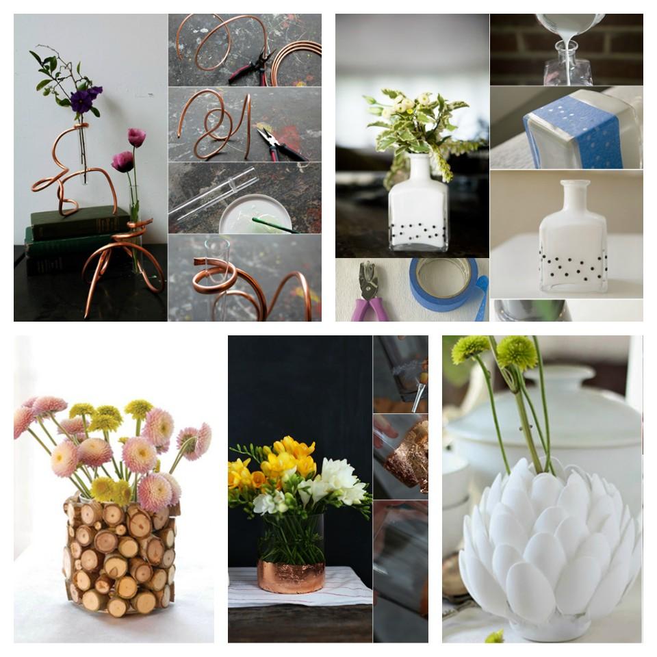 DIY βάζα ως διακοσμητική ιδέα και χειροποίητο δώρο - 30 απίθανες ιδέες