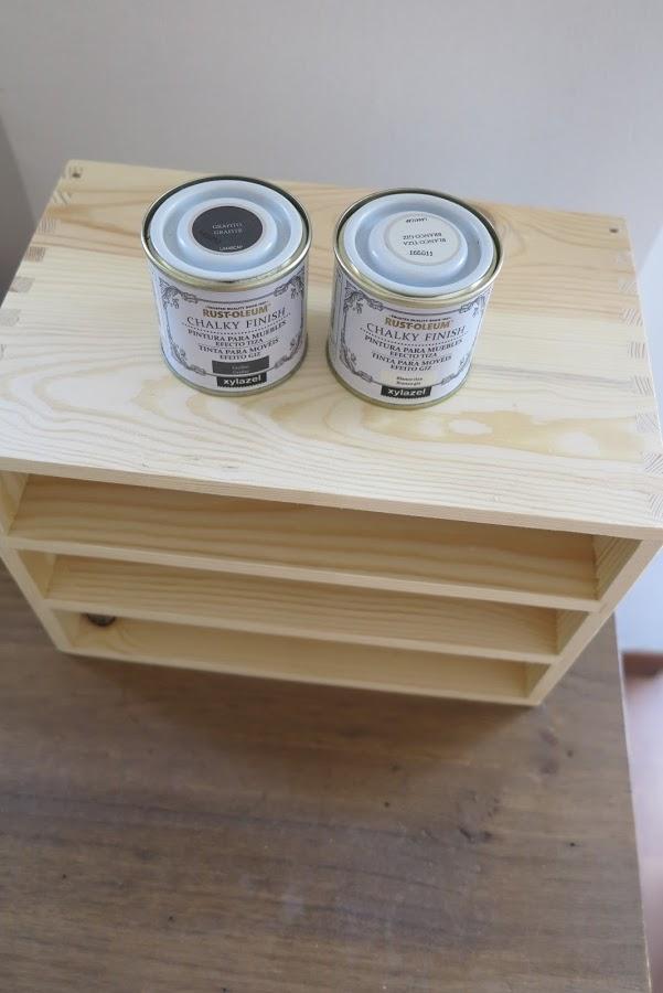 DIY Vintage συρτάρια με τεχνική πατίνας2